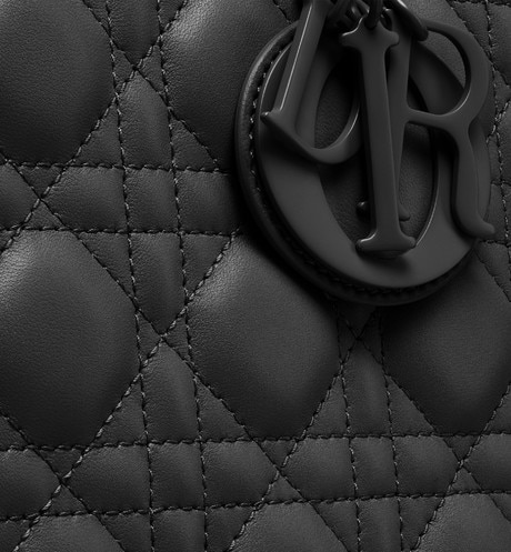 Lady Dior ultra-matte bag detailed view