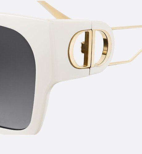 30Montaigne1 Ivory Rectangular Sunglasses aria_detailedView