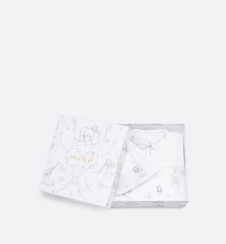 New-born 'Toile de Jouy' print gift set aria_detailedView