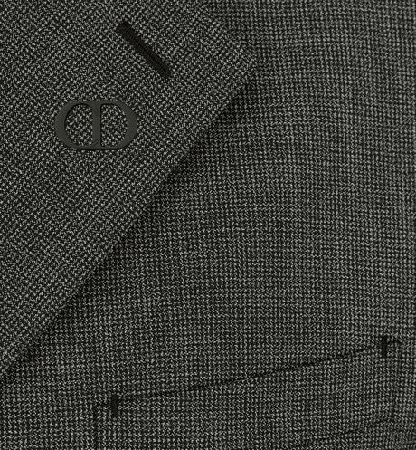 Micro-Houndstooth Workwear Jacket Detailed view Open gallery