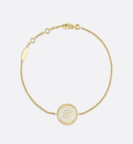 Rose des vents bracelet, 18k yellow gold and diamonds aria_detailedView