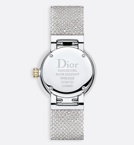 La D de Dior Satine Ø25 mm, quartz movement aria_detailedView
