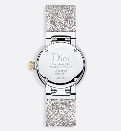La D de Dior Satine Ø 25 mm, movimento al quarzo aria_detailedView