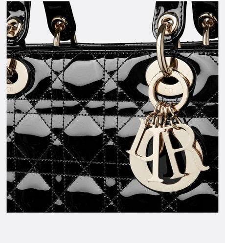 Large Lady Dior Bag Detailed view Open gallery