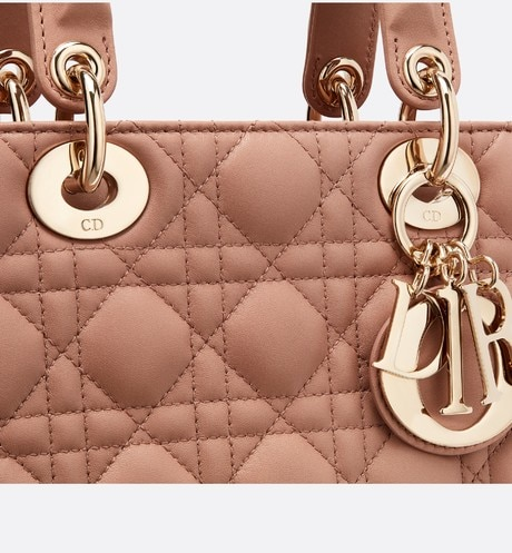 My ABCDior lambskin bag detailed view
