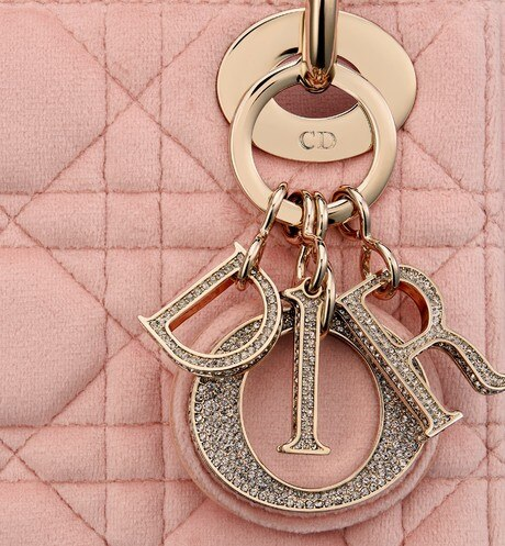 Mini Lady Dior Bag Detailed view Open gallery