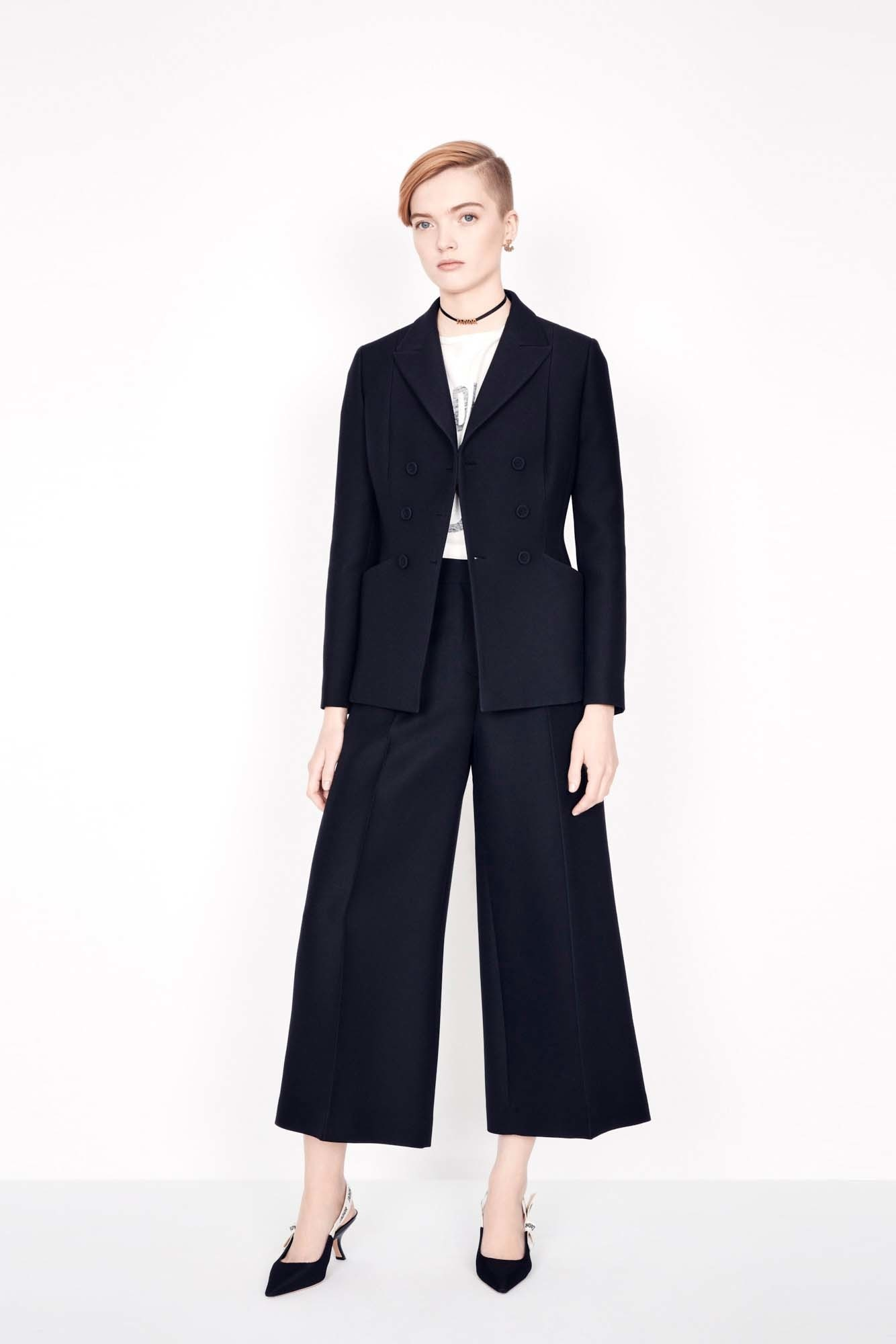 Wool and silk cropped pants aria_wornViewCropped